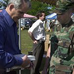 oliver north nra president book signing