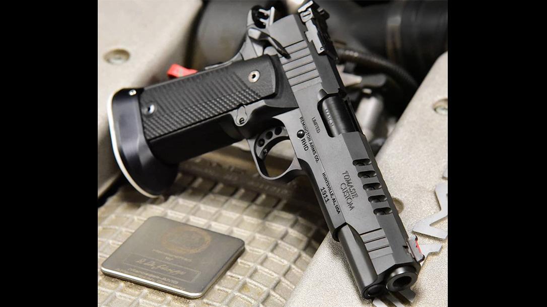 Remington 1911 R1 Tomasie Custom pistol beauty shot