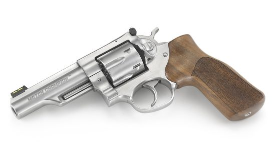 ruger gp100 match champion revolver left side view