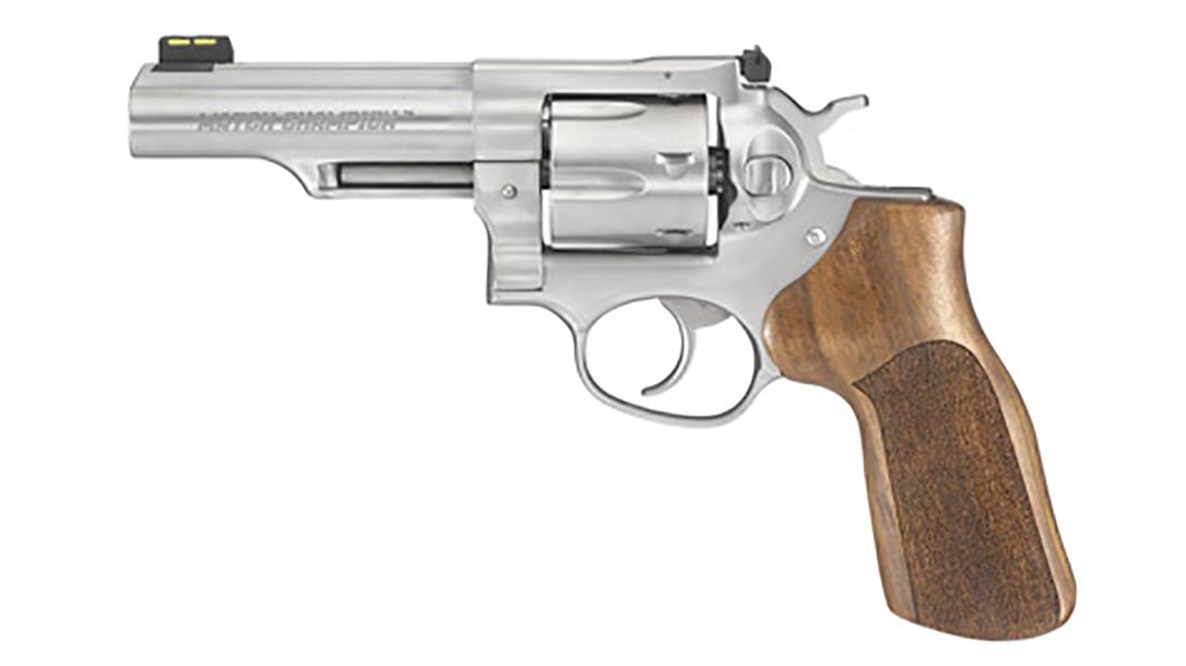 ruger gp100 match champion revolver left profile