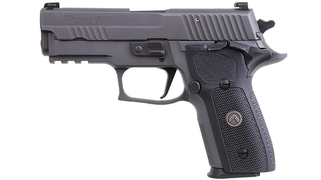 Sig Sauer Legion P229 SAO pistol left profile