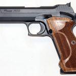 Sig P210 Target pistol left profile