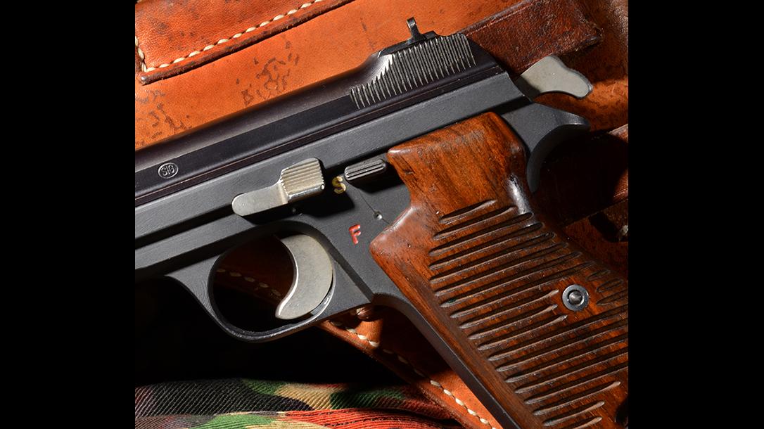 Sig P210 Target pistol safety