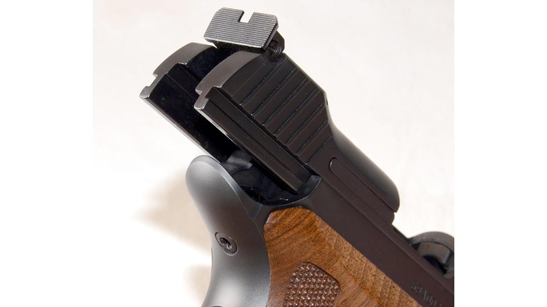 Sig P210 Target pistol beavertail