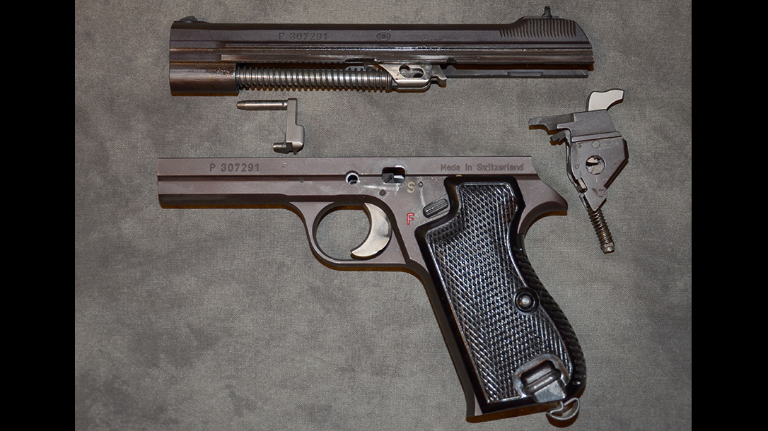 Sig P210 Target pistol parts