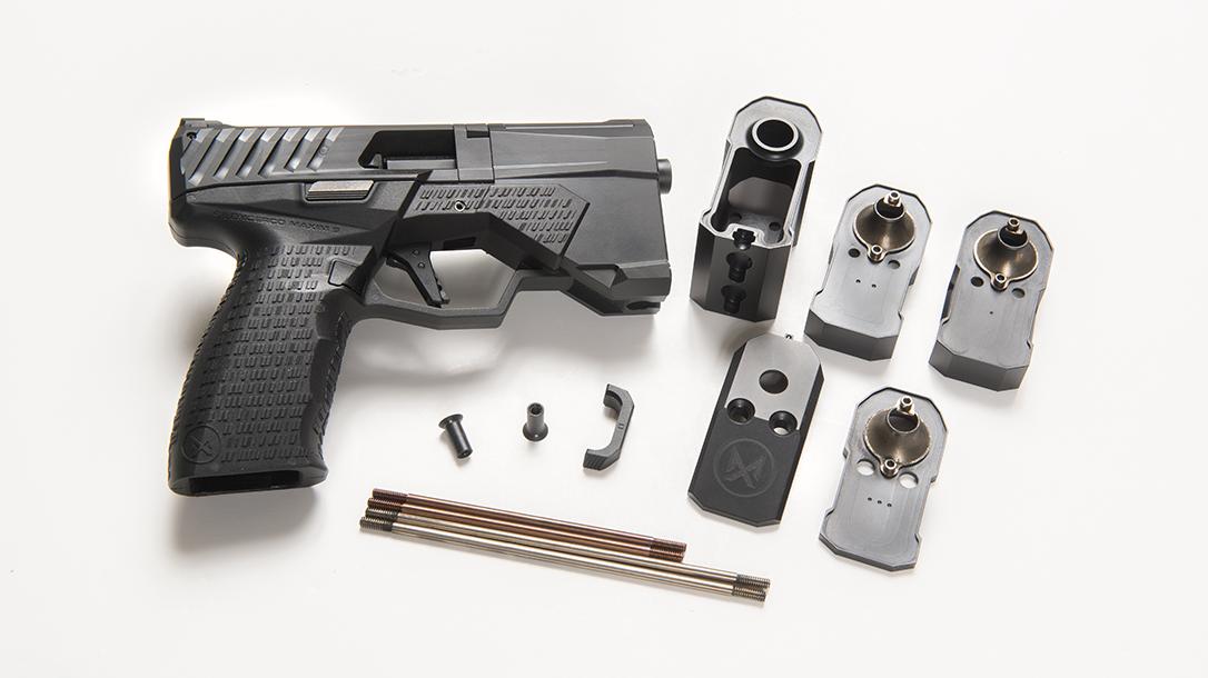 SilencerCo Maxim 9 pistol parts