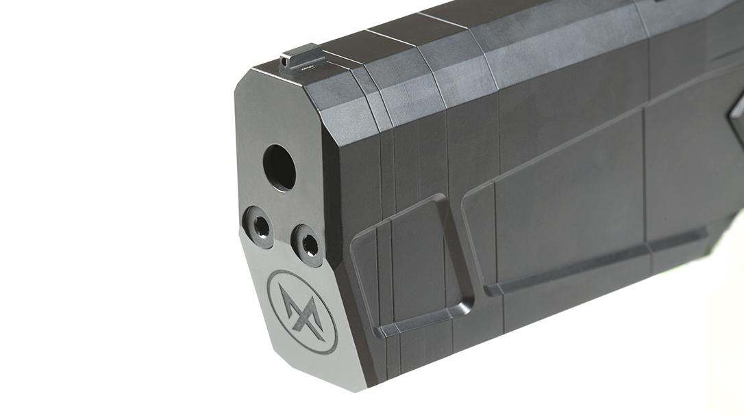 SilencerCo Maxim 9 pistol muzzle