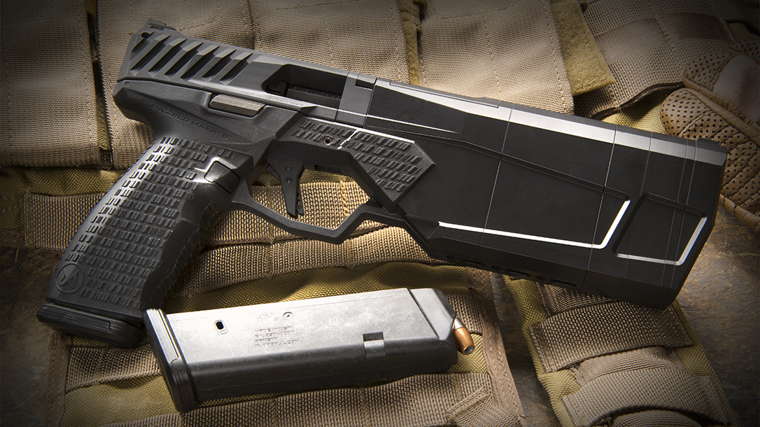 SilencerCo Maxim 9 pistol right profile