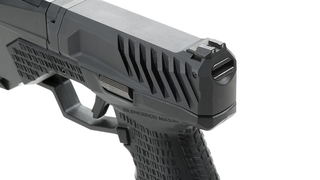 SilencerCo Maxim 9 pistol serrations