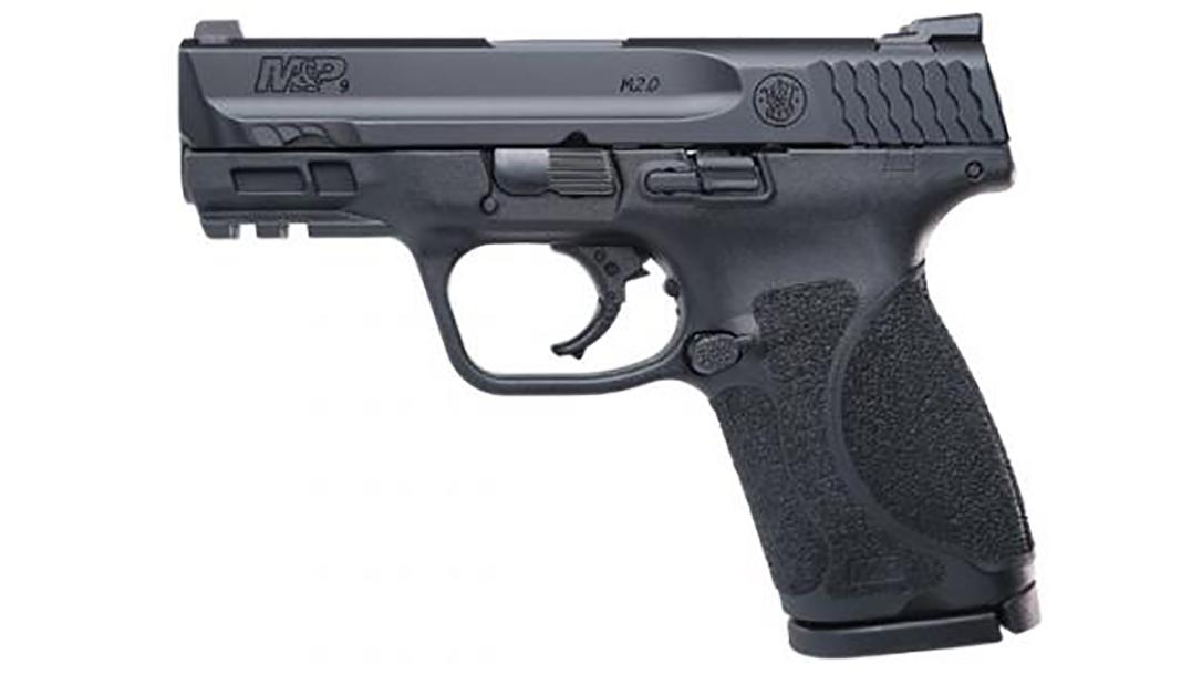 Smith & Wesson M&P M2.0 Compact 3.6 inch pistol left profile
