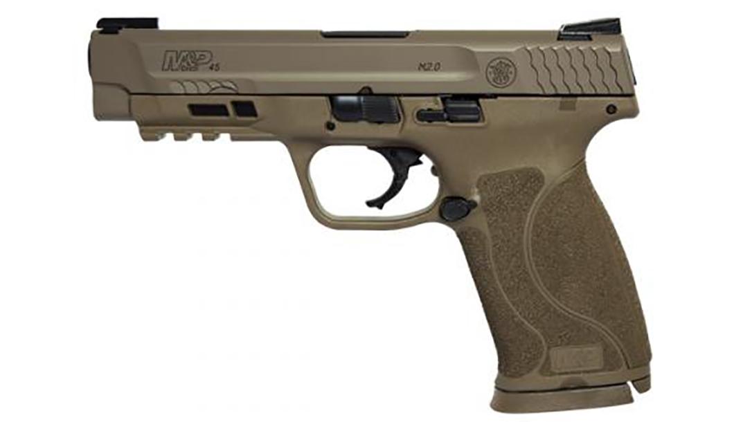 Smith & Wesson M&P45 M2.0 Pistol left profile