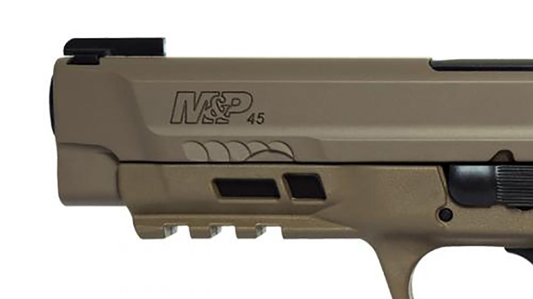 Smith & Wesson M&P45 M2.0 Pistol rail