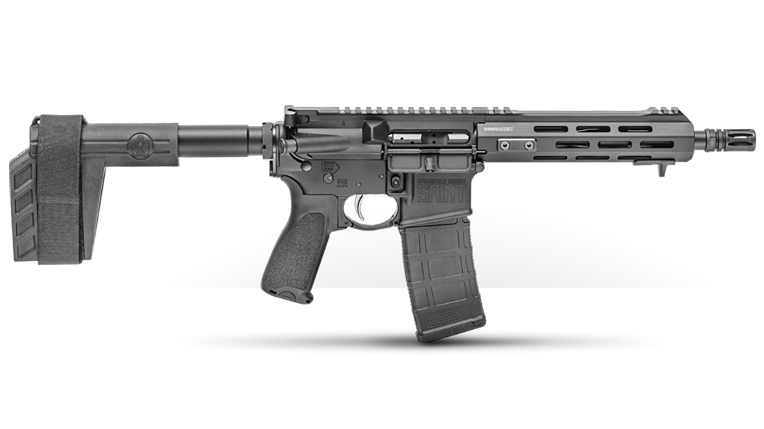 Springfield Saint AR Pistol .300 BLK right profile