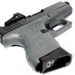 Suarez Guttersnipe Glock 43 pistol grip magazine well