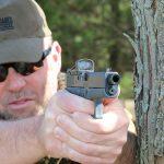 Suarez Guttersnipe Glock 43 pistol shooting