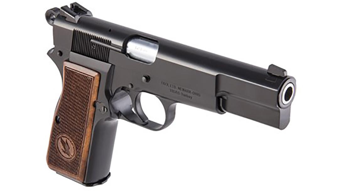 TISAS Regent BR9 pistol front angle