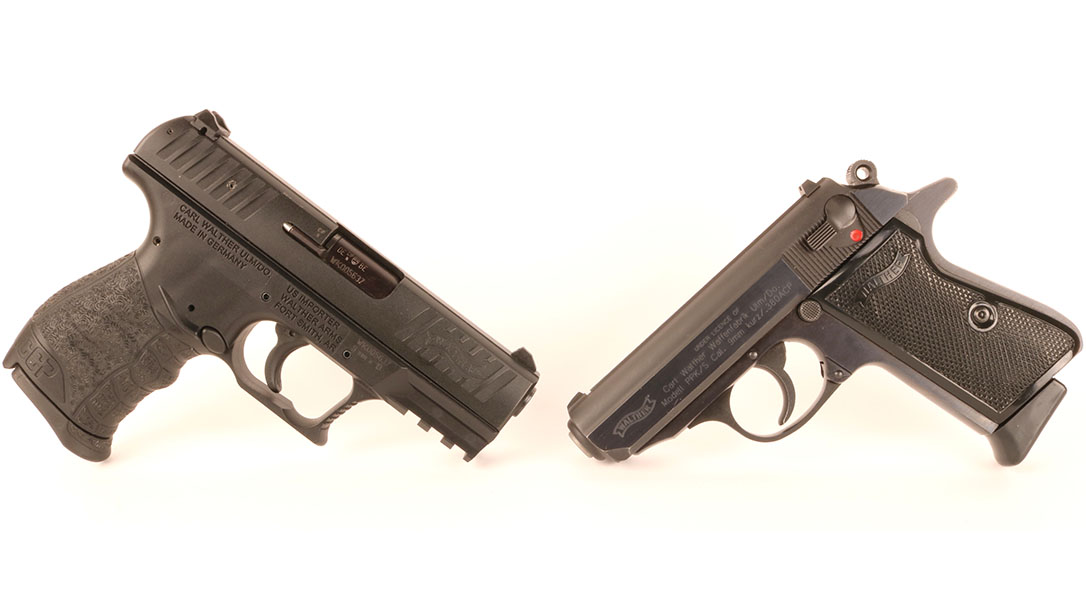 Comparing the Walther CCP and Walther PPK/S for Self Defense