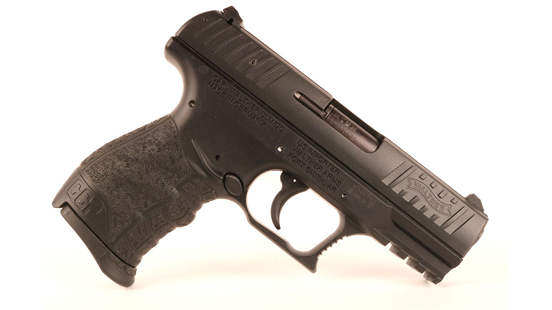 Walther CCP walther PPK s pistol right profile