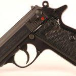 Walther PPK S pistol left profile