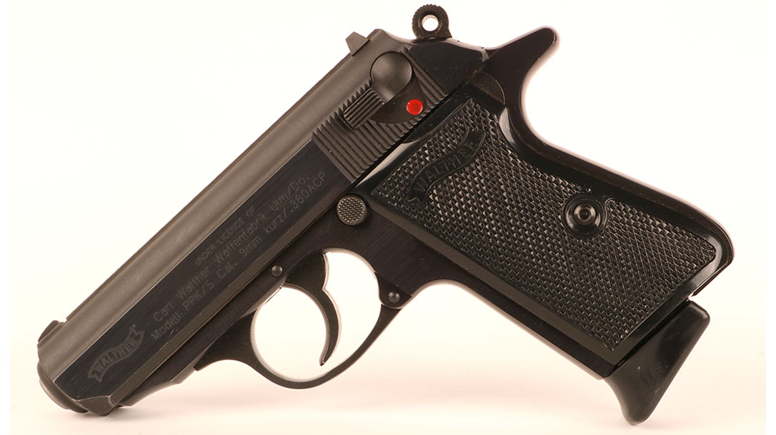 Walther PPK S pistol left profile