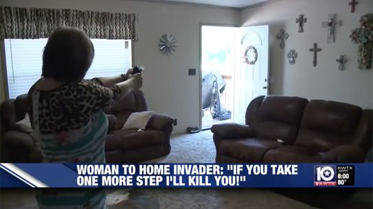 armed texas homeowner home invader laura williams