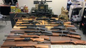nypd gun bust firearms rifles shotguns