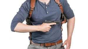 Alien Gear ShapeShift Shoulder Holster draw