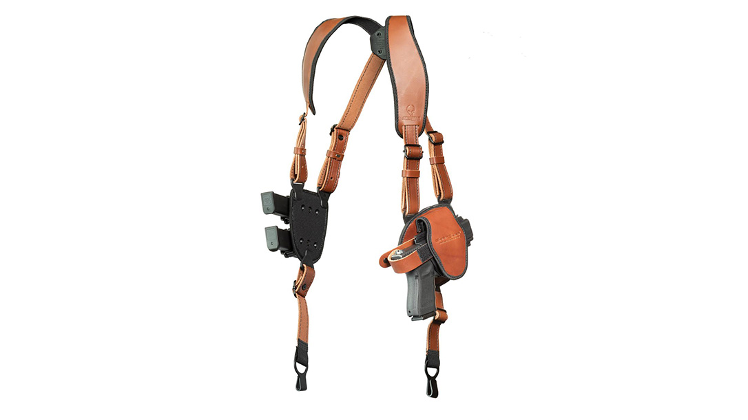 Alien Gear ShapeShift Shoulder Holster brown