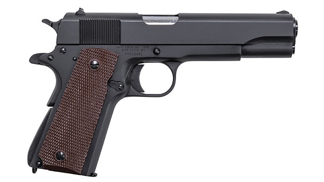 auto-ordnance 9mm 1911 handgun right profile