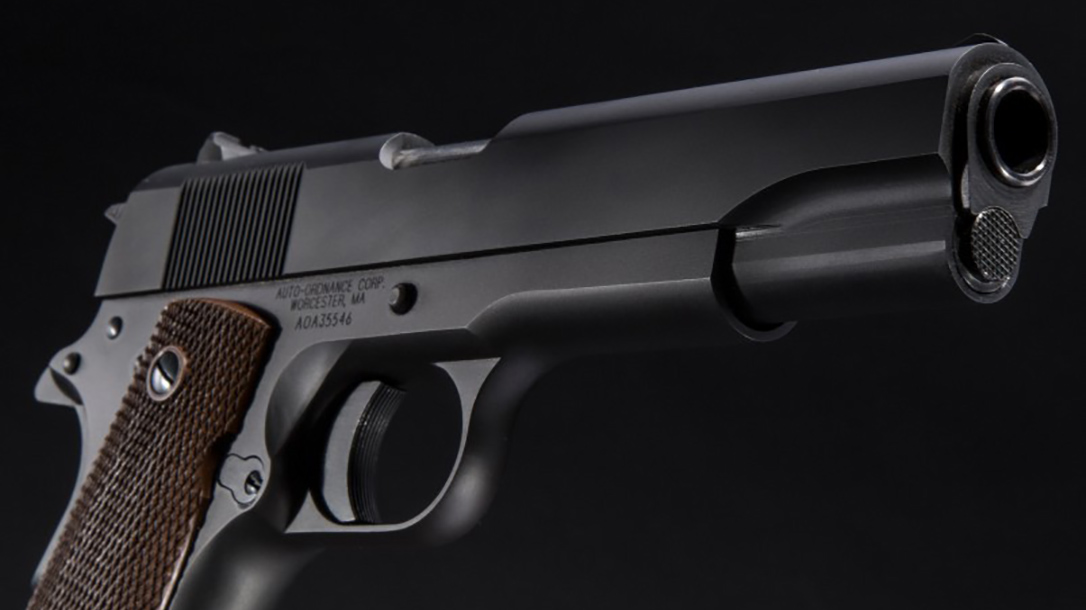 auto-ordnance 9mm 1911 handgun slide
