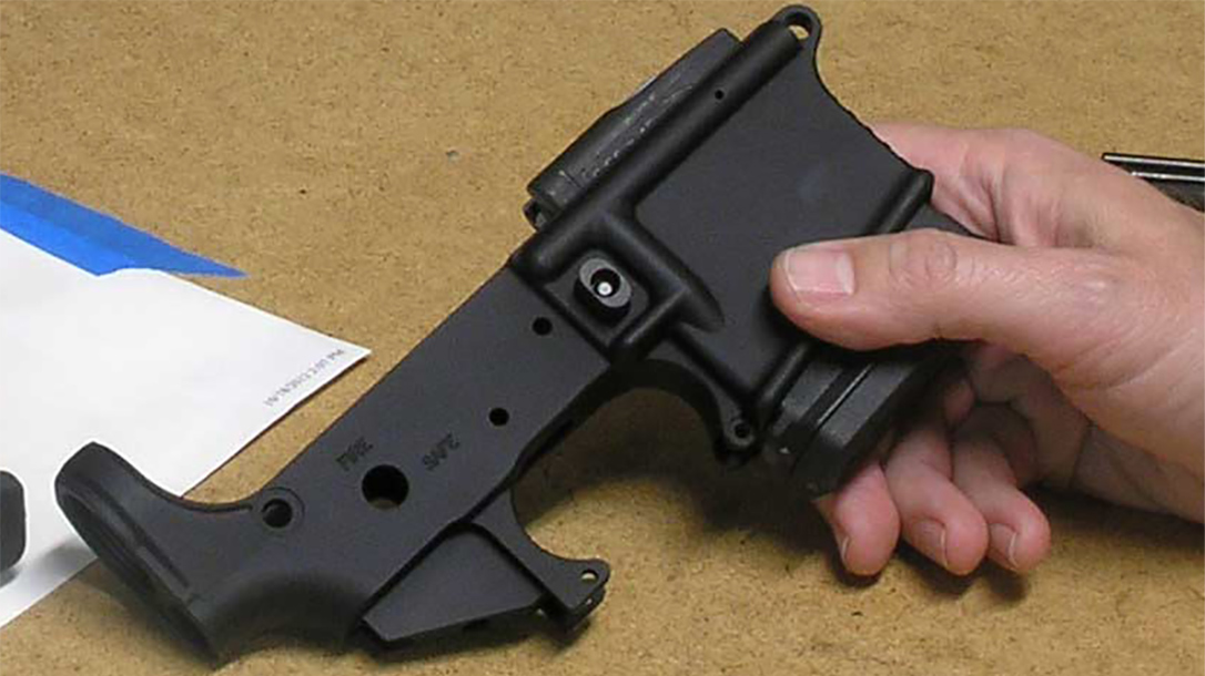 bullet button lower receiver