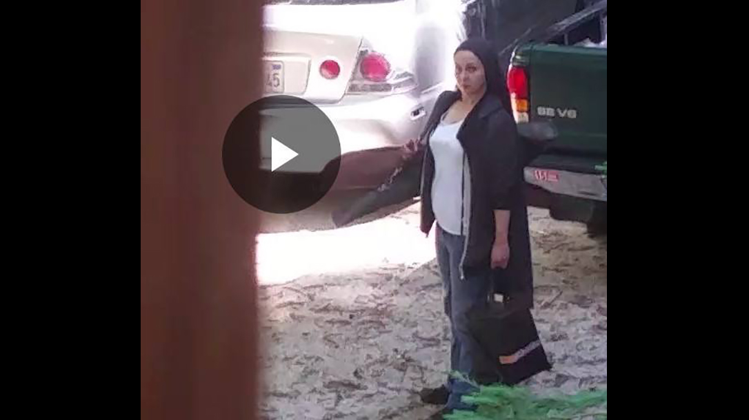 california armed homeowner samantha vetter security footage