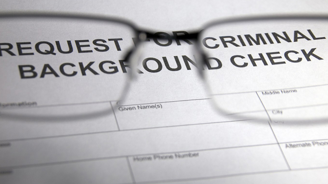 fbi nics background checks closeup