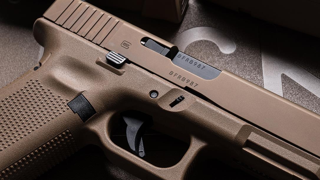 Glock 19X pistol slide