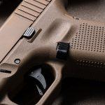 Glock 19X pistol trigger