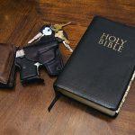 guns in church bible keys gun
