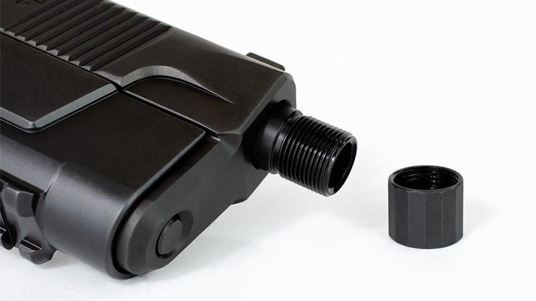 hudson h9 threaded barrel closeup
