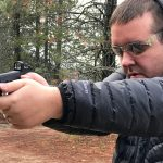 custom kahr p9 pistol shooting