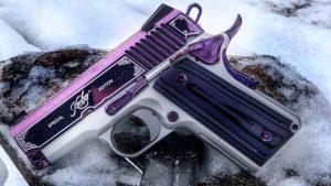 Kimber Amethyst Ultra II pistol left profile
