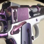 Kimber Amethyst Ultra II pistol rear sight
