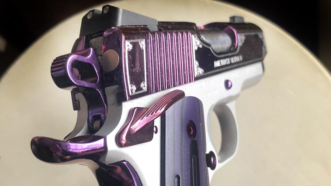 Kimber Amethyst Ultra II pistol rear sight