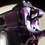 Kimber Amethyst Ultra II pistol rear sight left angle