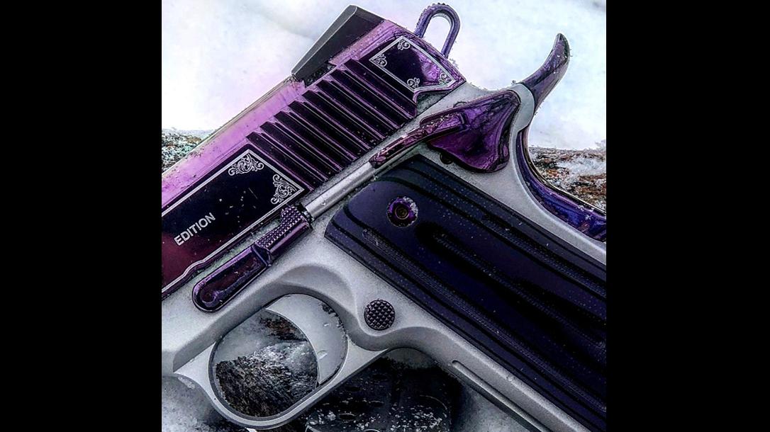 Kimber Amethyst Ultra II pistol serrations