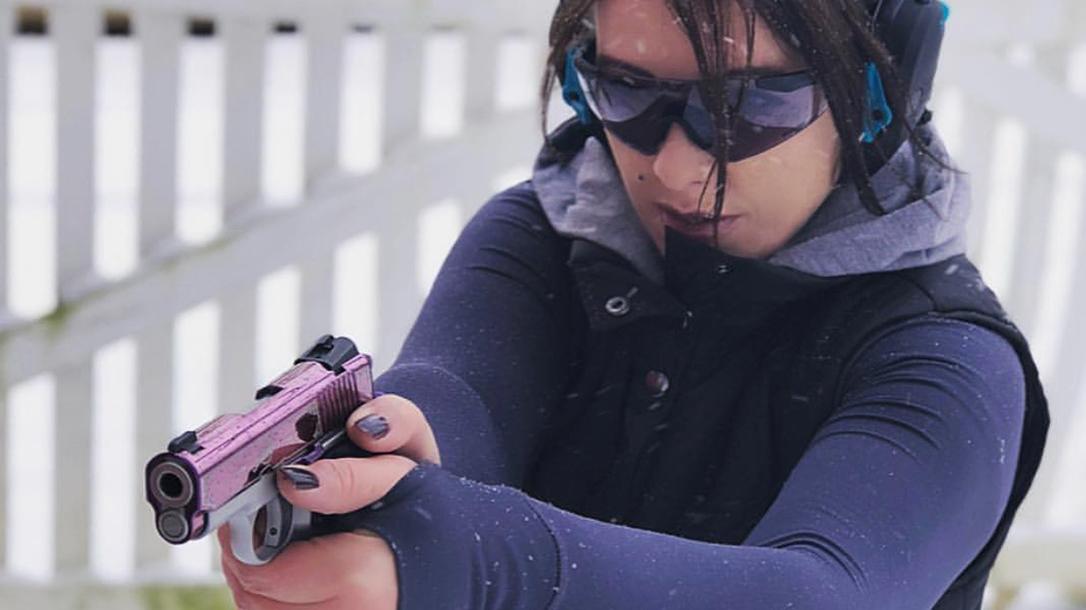 Kimber Amethyst Ultra II pistol shooting