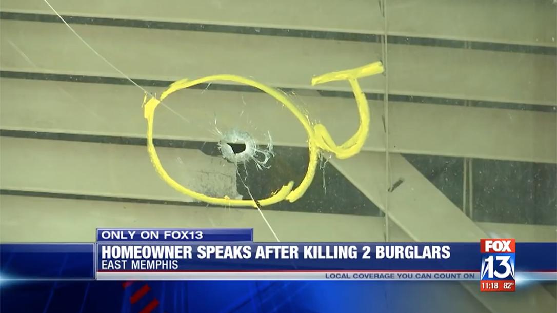 VIDEO: Memphis Homeowner Uses AK-47 to Kill Two Burglars