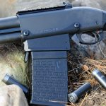 Remington 870 DM Magpul Shotgun magazine left profile