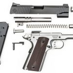 Roberts Defense SuperGrade 2-Tone pistol disassembled