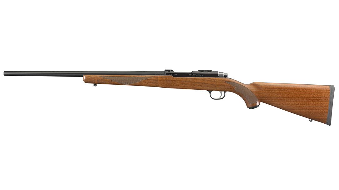 Ruger scout rifle 77/17 Rifle left profile
