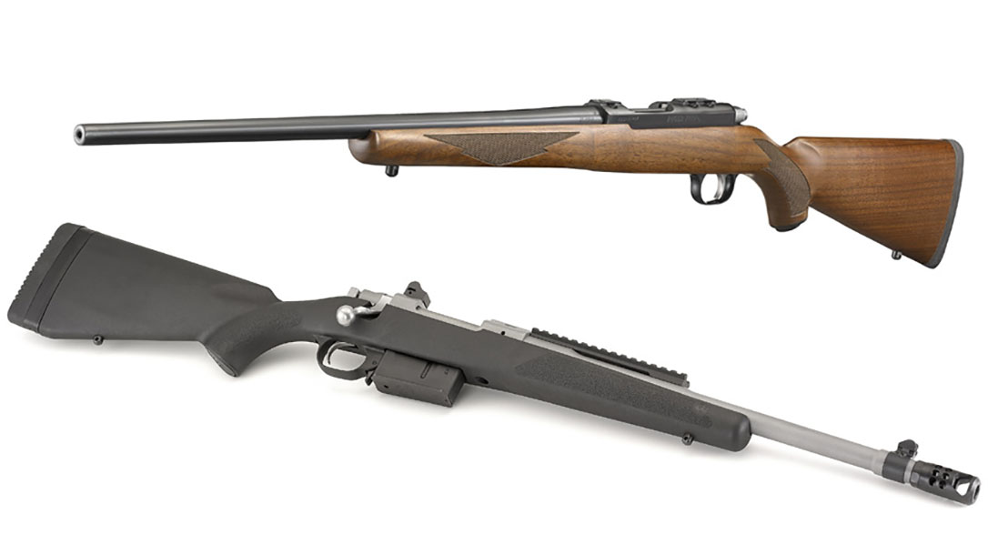 NEW: Ruger Scout Rifle in  450 Bushmaster, 77/17 in  17 WSM