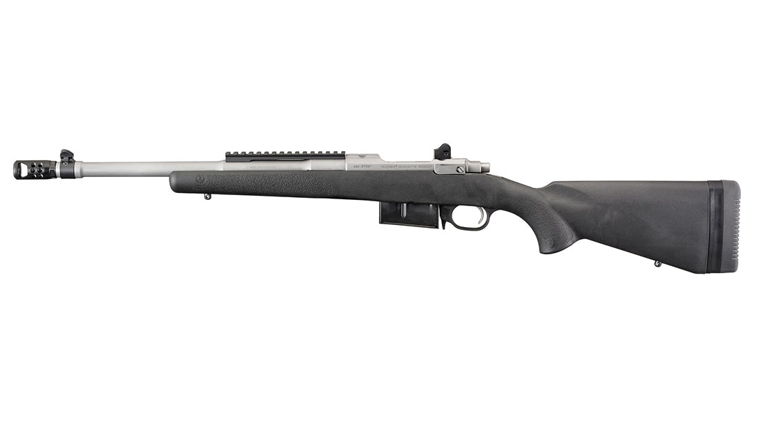Ruger Scout Rifle left profile